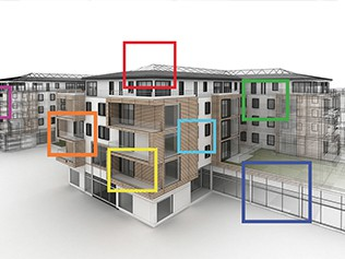 Integrated facade solution