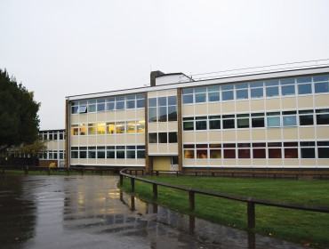 Canterbury Academy facade refurbishment