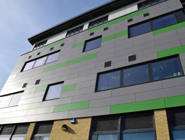 Canterbury Academy new teaching block - phase 1
